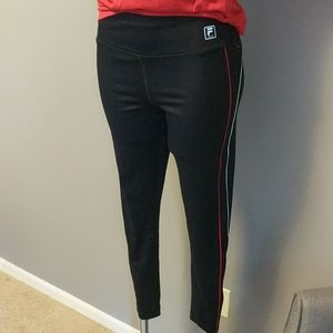Fila Sport Athletic Spandex Blend Workout Pants